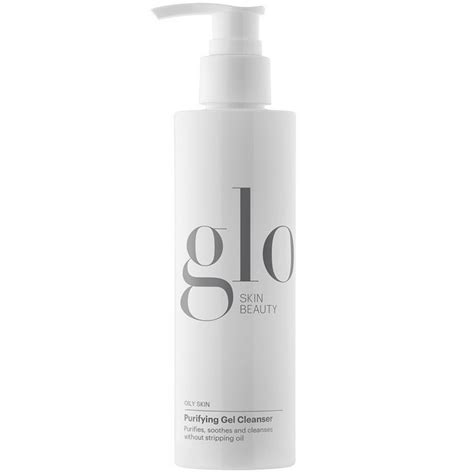 Purifying Cleanser Wardah Cosmetics glo skin purifying gel cleanser