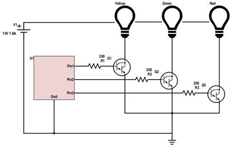 transistor npn switching circuit npn transistor switch circuit gallery