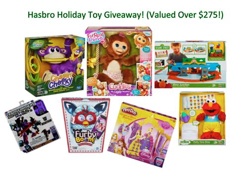 Free Toys Giveaway For Christmas - giveaway time win a hasbro holiday toys prize pack full of toys worth 275