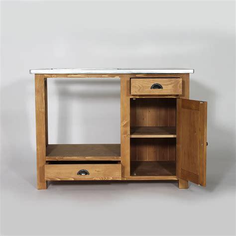 cuisine meubl馥 meuble de cuisine en bois pour four et plaques cagne