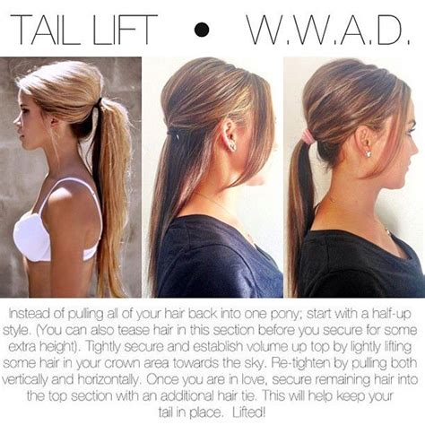 how to add height to hair 27 tips and tricks to get the perfect ponytail