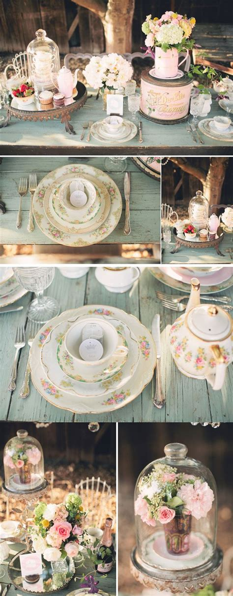 bridal shower dinner table outdoor styled dinner party tea parties bridal showers