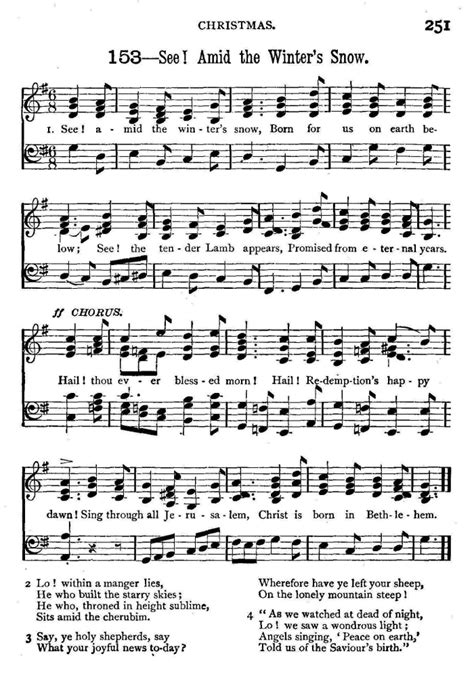 printable sheet music hymns white winter hymnal piano sheet music free white winter
