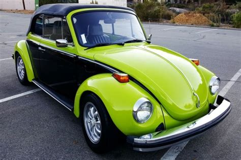 lime green volkswagen beetle seller of classic cars 1974 volkswagen beetle classic