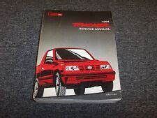 free service manuals online 1994 geo tracker electronic valve timing geo tracker repair manual ebay