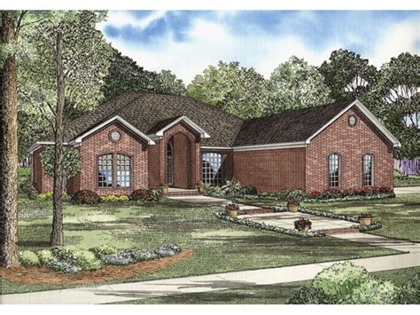 Ranch Brick House Plans Home Design And Style Brick Ranch Style Home Plans