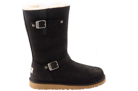 ugg australia kensington black fashion boots 1969