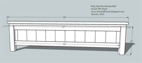 king size bed dimensions plans download king size bed plans dimensions plans free