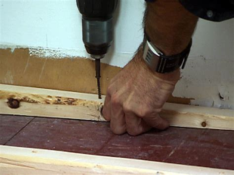 how to level a bathroom floor how to level a floor how tos diy