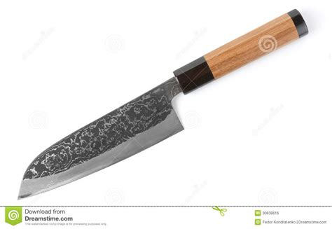 japanese carbon steel kitchen knives expensive carbon steel japanese knife stock photo image 30638616