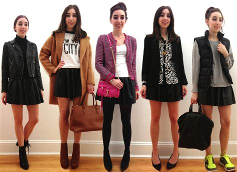 how to wear a leather skirt 5 styles to try stylecaster