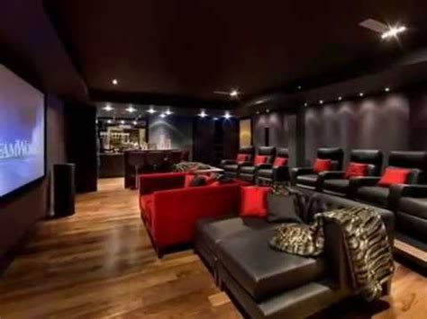 Theater Home Decor home movie theater design ideas youtube