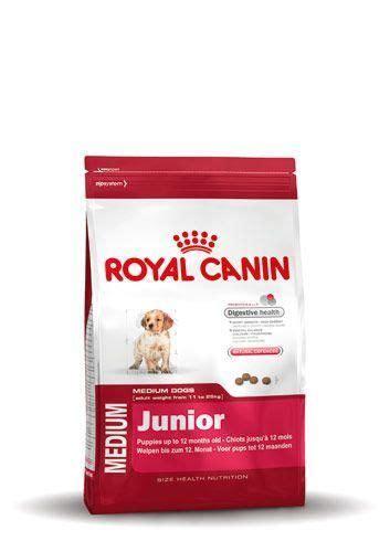 Dijamin Royal Canin Medium Junior 4 Kg royal canin medium junior 4 kg hondenvoer droogvoer