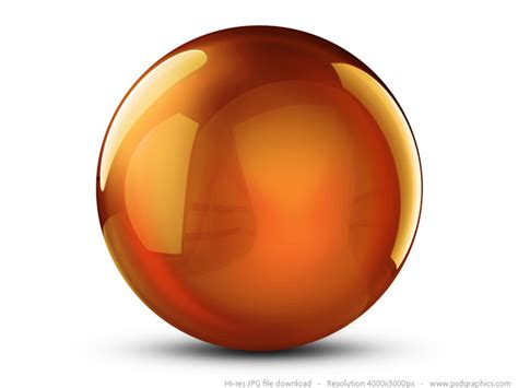 colorful 3d crystal balls psdgraphics