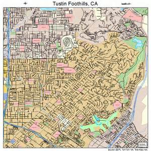 tustin california map tustin foothills california map 0680868
