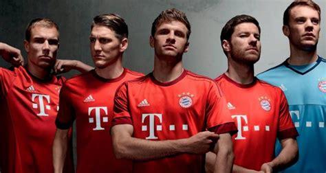Bayern Munchen Home 2015 2016 adidas unveil bayern munich 2015 16 home kit diskifans