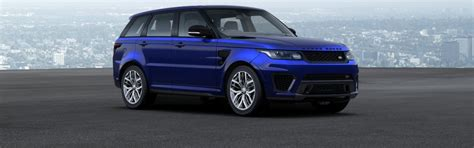 range rover light blue range rover sport colours guide carwow
