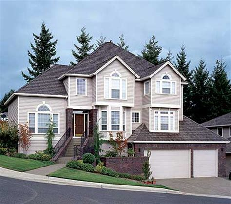 inspiring hillside house plans 7 more sloping lot or