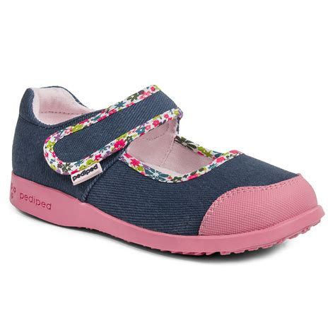 comfortable shoes for kids flex 174 bree denim pediped footwear comfortable shoes