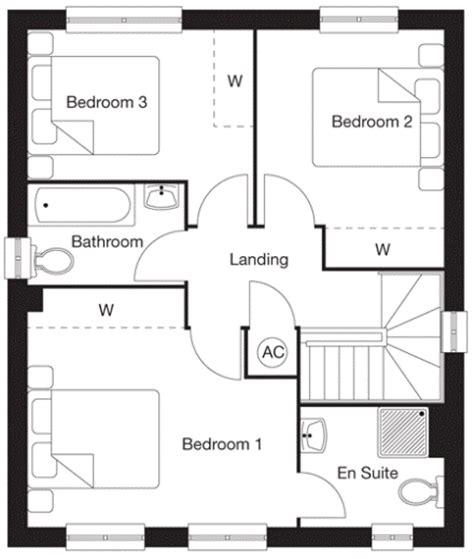 wimpey floor plans 3 bedroom detached house for sale in woodside catterick road colburn
