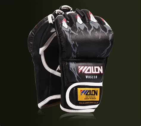 Wolon Boxing Gloves Mma Glove Sarung Tangan Tinju Muay Thai Jual Wolon Gloves Mma Muay Thai Kick Boxing Combat