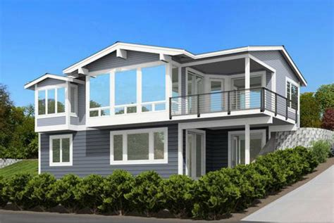 front sloping lot house plans for the front sloping lot 23533jd architectural designs house plans
