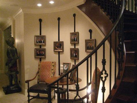14 best curved staircase wall decor images on - Curved Wall Decor