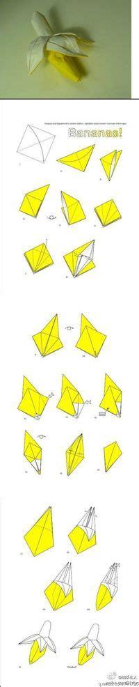 Origami Banana - origami banana papercraft juxtapost