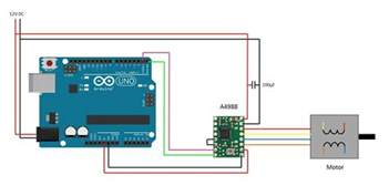 arduino stepper motor using pololu driver the