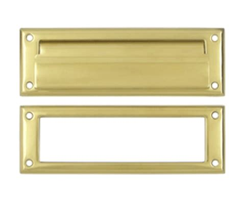 Front Door With Mail Slot Front Door Mail Slot Letter Flap Slot Polished Brass Finish