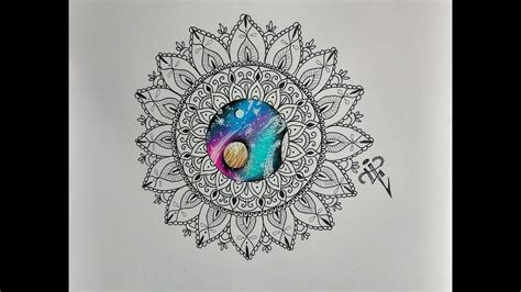mandala tattoo youtube dise 241 o mandala universo mandala universe design nosfe