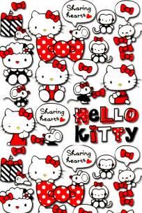 50 best of hello kitty wallpaper animasi custom vinyl decal hello kitty sharing hearts iheartmybb