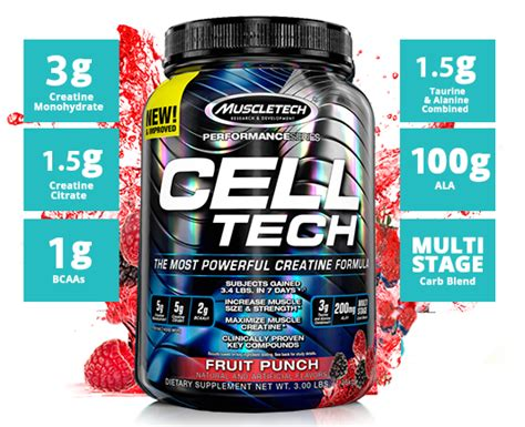 cell tech de muscletech cell tech by muscletech at bodybuilding best prices
