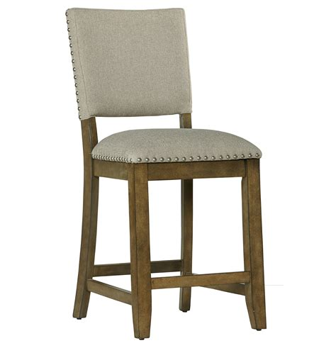 stool upholstery standard furniture omaha grey counter height bar stool