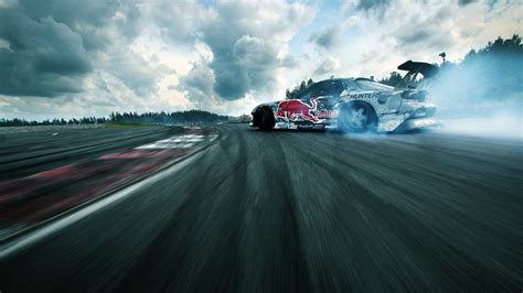 drift racing car on the track wallpapers and images