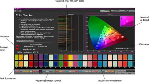 colorchecker calibration calman colorchecker color calibration software