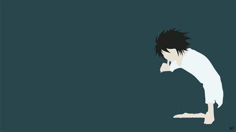 wallpaper anime minimalist l death note minimalist wallpaper by greenmapple17 on