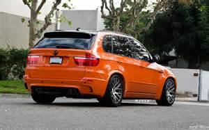 tuningcars orange bmw x5 m