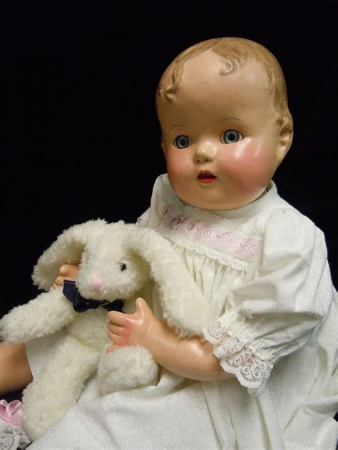 1940s composition doll vintage composition ideal baby doll 1940 s restored