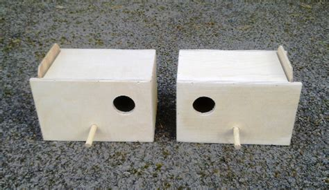 bird breeding cages and nesting boxes sheet material
