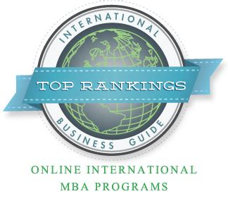 Best Foreign For Distance Mba by Top 10 International Business Mba Programs