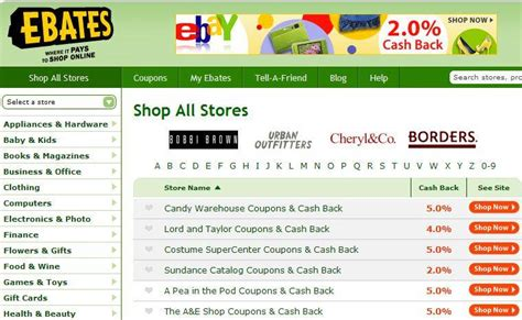 Fab Site Ebatescom by Money Mondays How To Use Ebates For Savings
