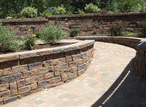 Paver Wall Pavers Duvall Retaining Walls And Pavers