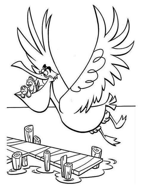 bruce nemo coloring pages bruce finding nemo coloring page coloring home