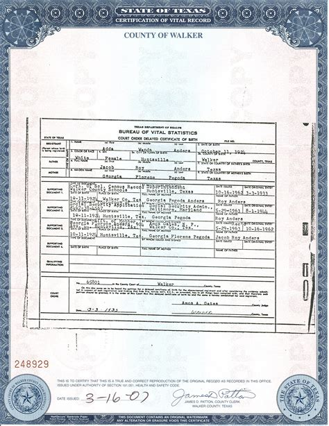 Harris County Birth Certificate Records Best Photos Of Form Birth Certificate Tx Birth Certificate Form Obama