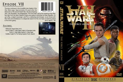 printable star wars dvd covers star wars episode vii the force awakens dvd cover 2016