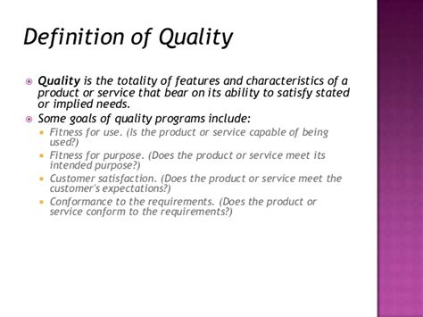 Tqm Notes For Mba by Quality Management