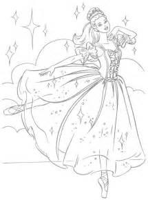 Coloriage A Imprimer Barbie Danseuse Etoile Gratuit Et Colorier sketch template