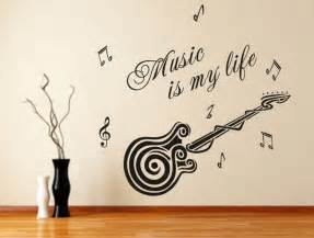 wallpaper stickers for walls free shipping removable wallpaper stickers guitar