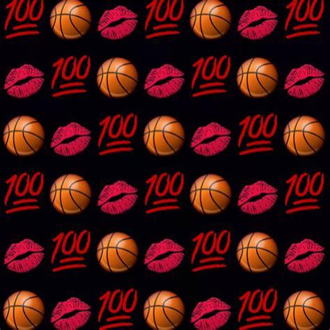 emoji sports wallpaper basketball lips emojis emoji wallpaper lockscreen